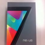 Nexus 7 購入